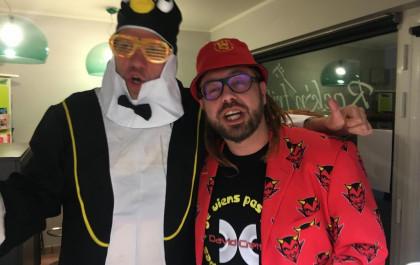 MISTER PINGOUIN & DAVID CRETTA